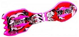 Скейтборд двухколесный (рипстик) Leikesi Pink (1681212338)