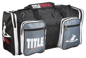 Сумка спортивная Title MMA Mega Sport Bag FP-MMBAG 6, черная (2962760004613)