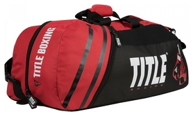 Сумка-рюкзак Title World Champion Sport Bag/Backpack 2.0 FP-TBAG25, красная (2976890029705)