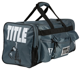 Сумка спортивная Title Deluxe Gear Bag FP-TBAG24, серая (2976890029668)
