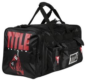 Сумка спортивная Title Deluxe Gear Bag FP-TBAG24, черная (2976890029651)