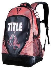Рюкзак спортивный Title Endurance Max Backpack FP-TBAG20, черно-красный (2976890011595)