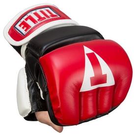 Перчатки снарядные Title Classic Wristwrap Heavy Bag Gloves FP-CWHBG2, красные (FP-CWHBG2)