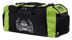 Сумка спортивная Top King Boxing Gym Bags FP-TKGMB01, черно-зеленая (2976890017504)