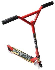 Самокат трюковый Scale Sports Tornado, красный (828561173)