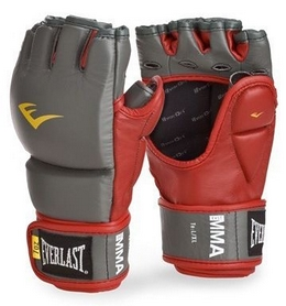 Перчатки для MMA Everlast Leather Grappling Gloves (FP-7672RG)