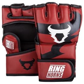 Перчатки для MMA Venum Ringhorns Charger Gloves - красные (FP-00007-003)