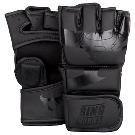 Перчатки для MMA Venum Ringhorns Charger Gloves - черные (FP-00007-114)