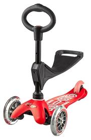 Самокат трехколесный Scooter Micro Mini, красный (1348968113)