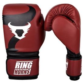 Перчатки боксерские Venum Ringhorns Charger Boxing Gloves, красные (FP-00001-003)