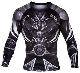 Рашгард с длинным рукавом Venum Gladiator 3.0 Rashguard Long Sleeves, черный (FP-02986-108)