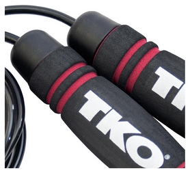 Скакалка TKO High Speed Skip Rope FP-TKOA15, черная (2976890033221) - Фото №2