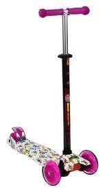Самокат трехколесный Scooter Maxi Butterfly, малиновый (1374345841)