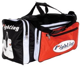Сумка спортивная Fighting Sports World Champ Equipment Bag FP-FSBAG 2, черно-красная (2968340008613)
