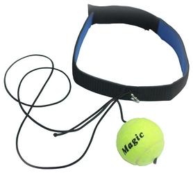 Тренажер боевой мяч на резинке Fight Ball FP-E-ILP9 - желтый, 30 см (2962760004354)