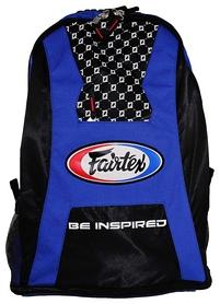 Рюкзак спортивный Fairtex Back Pack FP-BAG4, черно-синий (2976890017573)