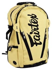 Рюкзак спортивный Fairtex Compact Back Pack FP-BAG8, бежевый (2976890017535)