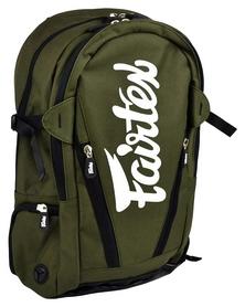 Рюкзак спортивный Fairtex Compact Back Pack FP-BAG8, зеленый (2976890017559)