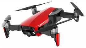 Квадрокоптер DJI Mavic Air (EU) Flame Red, красный (CP.PT.00000148.01)