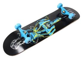 Скейтборд деревянный Fish Skateboard Finger, голубой (1736302984)