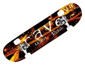 Скейтборд Penny Urban Rave, коричневый (SD17)
