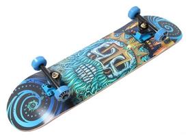 Скейтборд деревянный Fish Skateboard Neptune, синий (1279091784)
