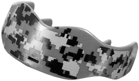 Капа Soldier Sports 7312 Mouthguards FP-SSMG, серый камо (2976890023727)