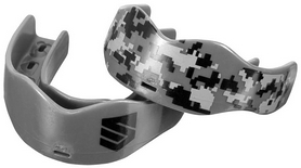 Капа Soldier Sports 7312 Mouthguards FP-SSMG, серая (2976890018761)
