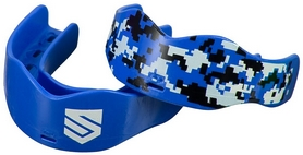 Капа Soldier Sports 7312 Mouthguards FP-SSMG, синяя (2976890018778)