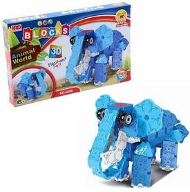 Конструктор HRD 3D Animal World - Слон, 289 деталей (1410298318)