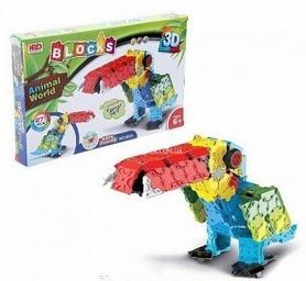 Конструктор HRD 3D Animal World - Тукан , 271 деталь (807748148)