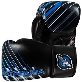 Перчатки тренировочные Hayabusa Ikusa Charged Gloves, черно-синие (FP-IC12G)