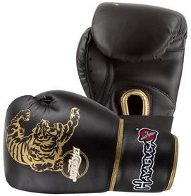Перчатки тренировочные Hayabusa Premium Muay Thai, черные (FP-MT10G)