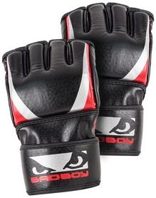 Перчатки тренировочные Bad Boy Training Series 2.0 Mma Gloves, черно-красные (FP-BADTSMMA)