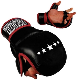Перчатки тренировочные Contender Fight Sports Classic Mma Ultra Training Gloves, черные (FP-CMMUTG)