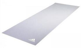 Коврик для йоги (йога-мат) Adidas ADYG-10400GR - серый, 4 мм