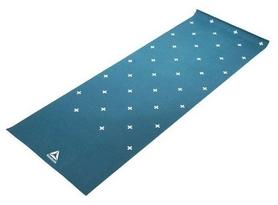 Коврик для йоги (йога-мат) Reebok RAYG-11030GN - зеленый, 4 мм