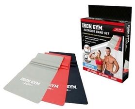 Набор из 3-х ленточных эспандеров Iron Gym IG00127