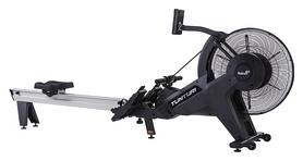 Тренажер гребной Tunturi Platinum Pro Air Rower, черный (17PTRW2000)