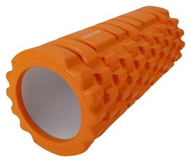 Валик массажный для йоги Tunturi Yoga Grid Foam Roller - оранжевый, 33 см (14TUSBC001)