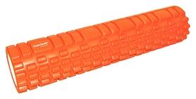 Валик массажный для йоги Tunturi Yoga Grid Foam Roller - оранжевый, 61 cм (14TUSYO011)