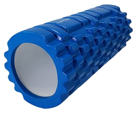 Валик массажный для йоги Tunturi Yoga Grid Foam Roller - синий, 33 см (14TUSYO025)