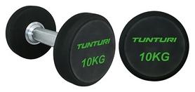 Ряд гантельный профессиональный Tunturi PU Pro Dumbbell Set, 5 пар по 34-42 кг (14TUSCF052)