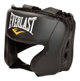 Шлем тренировочный Everlast Boxing Head Gear, черный (2962760003166)