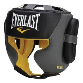 Шлем тренировочный Everlast C3 Professional Sparring Headgear, черный (FP-560001)