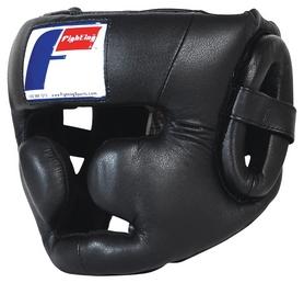 Шлем тренировочный Fighting Sports Pro Full Training Headgear, черный (FP-WINPTHG)