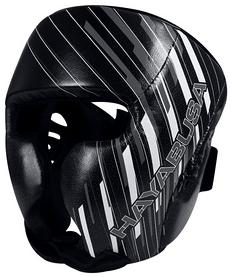 Шлем тренировочный Hayabusa Ikusa Charged Head Gear, черно-серый (2976890014282)