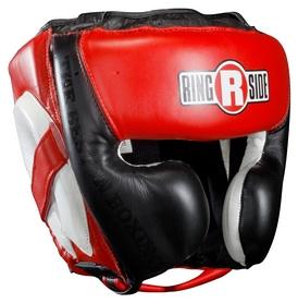 Шлем тренировочный Ringside Mexi-Flex Headgear, черно-красный (FP-MHG 2)