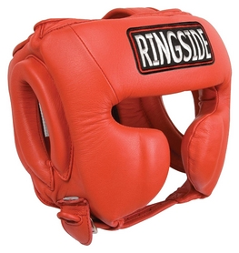 Шлем тренировочный Ringside Master's Competition Headgear, красный (FP-MASTHG)