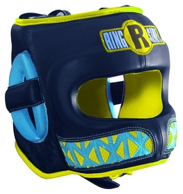 Шлем детский Ringside Youth Face Saver Headgear, синий (2976890033238)